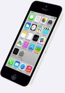 NEW FACTORY UNLOCKED AT&T WHITE 32GB APPLE IPHONE 5C 5 C SMART PHONE JQ69 B
