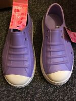 Marks And Spencer Girls Shoes In Purple Size 12