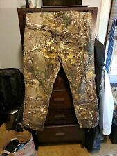 Cabela's RealTree Extra Camouflage Hunting Pants Trousers Men's Size 34