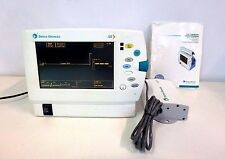 Datex Ohmeda S/5 Light Patient Monitor w/ Power Supply & Manual Medical