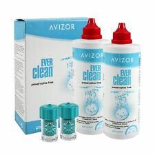 Avizor Ever Clean 2x 350ml + 90 tablets + 1 lens holder