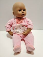 "Y2 17"" African American Zapf Creations doll with Zapf Sleeper"
