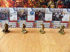 Zombicide: Green Horde: Hyg, Hyld, Lividia, & Spearhead Kickstarter Survivors
