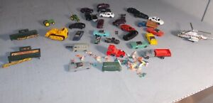 N SCALE TRAIN LOT AUTOS PEOPLE John Deere CONSTRUCTION HELICOPTER
