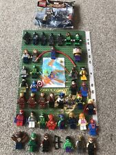 Paquete De Minifiguras Lego Marvel Genuino enorme gran!! rara!!!