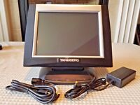 Touch Panel Screen Crestron TPS-5000 Tilt Color Monitor Display w/ Power Supply