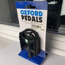 Oxford Bicycle Cycle Bike Junior Resin Pedal Black - 1/2'
