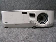 NEC NP410 Desktop Multimedia LCD Data Projector w/ Working Lamp