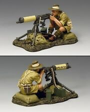 King and country Aussie Vickers artillero EA094 EA94