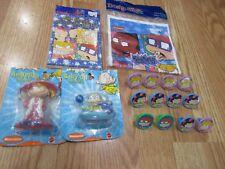 5pc Lot Designware Rugrats Multi-color Birthday Party Goods  NOS