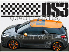 P56 CITROEN DS3 ROOF RALLY GRAPHICS DECAL STICKERS