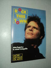 ROCK THIS TOWN 25 (4/85) JOHN FOGERTY MANSET TELEPHONE CHRISTOPHE LAMBERT (3)