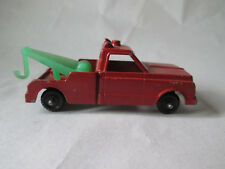 "Midgetoy Wrecker Tow Truck USA 2.5"" Red"