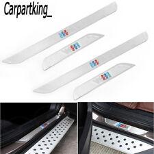 For BMW X5 E70 X6 E71 X1 2007-2014 Slim Door Sill scuff plate Guards Pedals 4pcs
