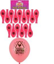 Ballons de fête roses ovales pour la maison, pour enterrement vie de jeune fille
