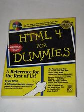 Nice.  HTML 4 For Dummies with Sealed CD-ROM (never used).  A GR8 Deal!