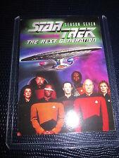 STAR TREK THE NEXT GENERATION PROMO CARD SEASON SEVEN 7