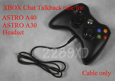 XBOX LIVE CHAT TALKBACK CABLE for ASTRO Mixamp MA 5.8 PRO w/ A40 A30 headset