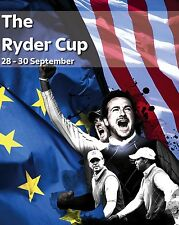 2012 Ryder Cup Poster, 8x10 Color Photo