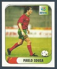 MERLIN-EURO 96 WITHDRAWN STICKER- #294-PORTUGAL-PAULO SOUSA