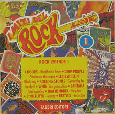 I MITI DEL ROCK n.1 DOORS LED ZEPPELIN PINK FLOYD BEATLES WHO cd Italy promo