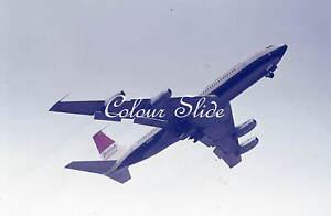 British Airtours Boeing 707-436 G-APFI, c1970s, Colour Slide, Aviation Aircraft