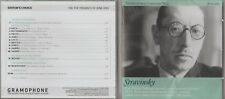 CD THE REAL GREAT COMPOSERS  NO 35  STRAVINSKY - MUSIC'S GREAT REVOLUTIONARY