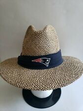 🔥🔥 NEW ENGLAND PATRIOTS NFL REEBOK STRAW HAT LARGE New! FRESH!SHIPS TODAY! 🏈