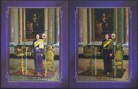 Thailand 2015 Prinzessin Sirindhorn Princess Gold Foil Blocks Postfrisch MNH