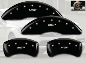 2015-2020 Mercedes Benz C300 Sport Front Rear Black MGP Brake Disc Caliper Cover