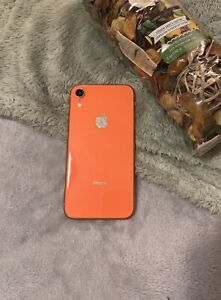 Apple iPhone XR Orange - 128GB - Boxed (Unlocked) All Asescories Included
