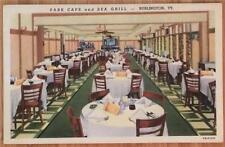 Park Cafe and Sea Grill, Burlington, V.T. Divided Back, Unposted