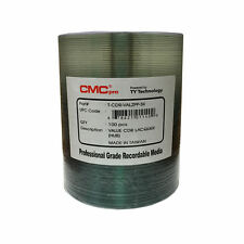 100 CMC Pro (TY Technology) 52X Silver Thermal Lacquer Printable Value CD-R Disc