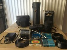 Zenit 12XP Vintage Film Camera + accessories FULLY WORKING + Case USSR