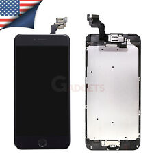 for Apple iPhone 6 Plus LCD Digitizer Touch Display Screen Camera Button Black