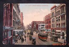 1909 FIrst Avenue, Seattle, Washington - Divided Back, Posted