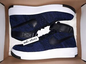 NIKE AIR FORCE 1 ULTRA FLYKNIT MID AF1 GAME ROYAL US8,5 EUR42 low 817420-400