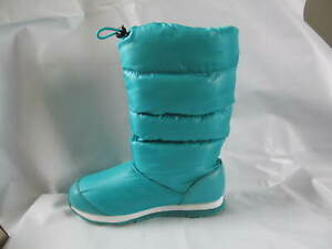 NWB Rubber Duck Snow Joggers Puffy Viridian Green Boots Size 8 (7)