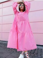 H&M Pink Baloon Sleeve Cotton Dress SOLD OUT - BNWT (small )