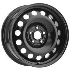 """Vision SW60 Steel Mod 16x6.5 5x100 +40mm Black Wheel Rim 16"""" Inch"""