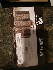 "Mossy Oak Camo Netting Blind Material Hunting Turkey Deer 12' L x 56"" H Allen"