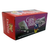 Empire Magic Cups and Balls Trick, Close Up Magic Trick