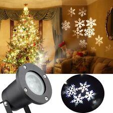 LED Laser Licht Projektor Weihnachtsbeleuchtung Weihnachtsdekoration Garten Snow