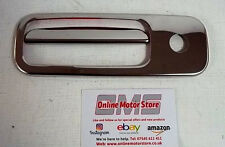 VW TRANSPORTER T5 - CHROME REAR DOOR RELEASE HANDLE COVER  - TAILGATE 1 DOOR
