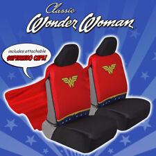 Wonder Woman Cape Car Seat Cover Front Full Set Original Design