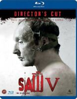Saw 5 Directors Cut Blu Ray (Region B)
