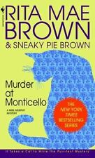 Mrs. Murphy: Murder at Monticello 3 by Rita Mae Brown (1995, Paperback)