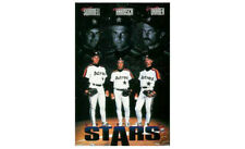 Classic 1993 HOUSTON ASTROS PITCHING STARS POSTER - Harnisch, Drabek, Swindell
