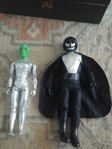 1977 Ideal ZEM-21 Star Team RobotAction Figure Alien + Knight Star Wars Knockoff