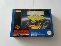 Populous - Super Nintendo SNES Game [PAL UKV] CIB